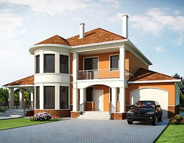 Индивидуальные проекты двухэтажных домов