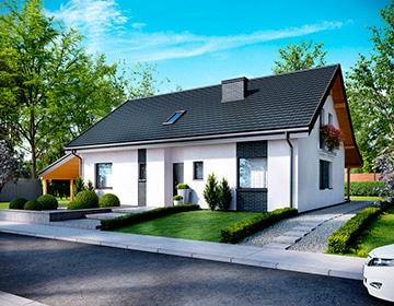 Индивидуальные проекты каркасных домов