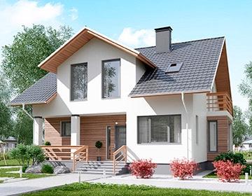 Индивидуальные проекты мансардных домов