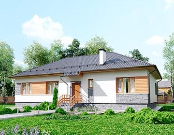 Индивидуальные проекты одноэтажных домов