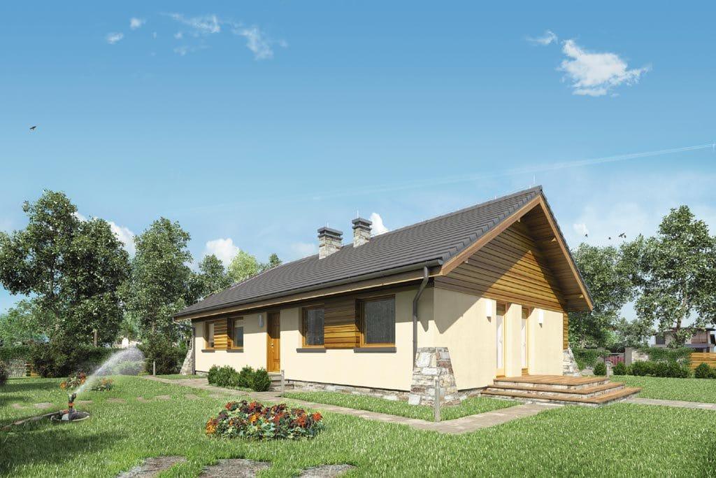 Проект одноэтажного дома «КО-95» - фото №2