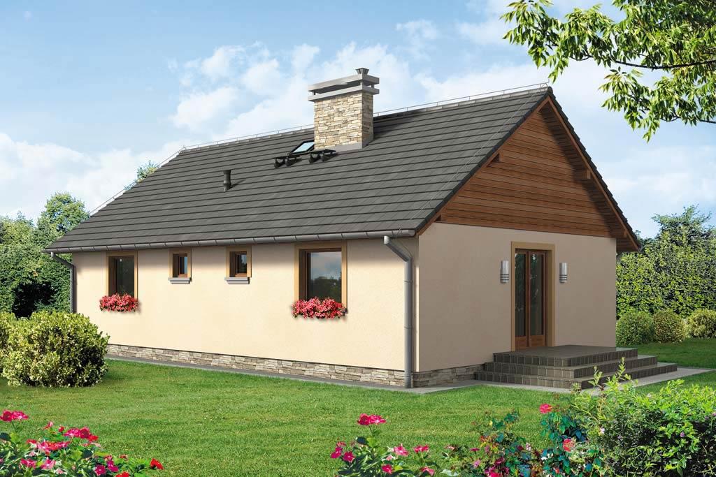 Проект одноэтажного дома с террасой «КО-113» - фото №2
