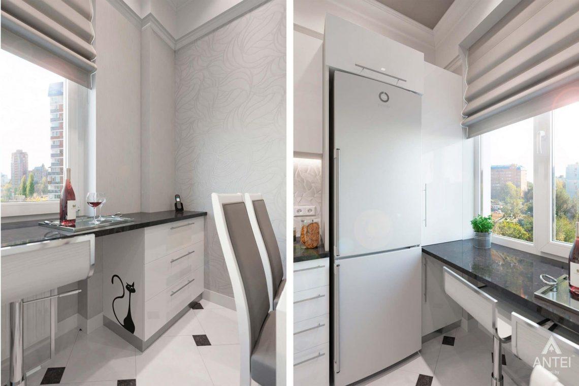 Дизайн интерьера квартиры в Минске, ул.Короля - кухня фото №4