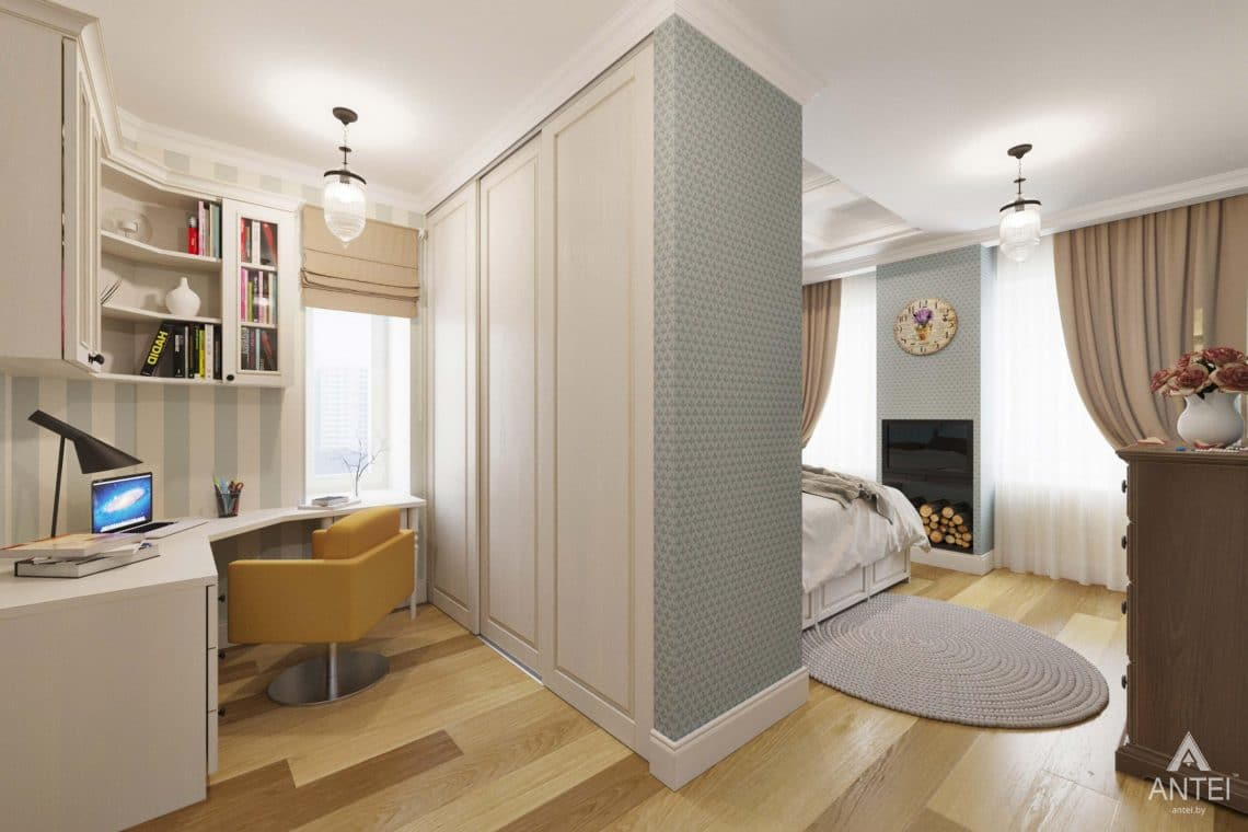 Дизайн интерьера квартиры в Гомеле, Проспект Ленина, 51 - детская комната фото №2