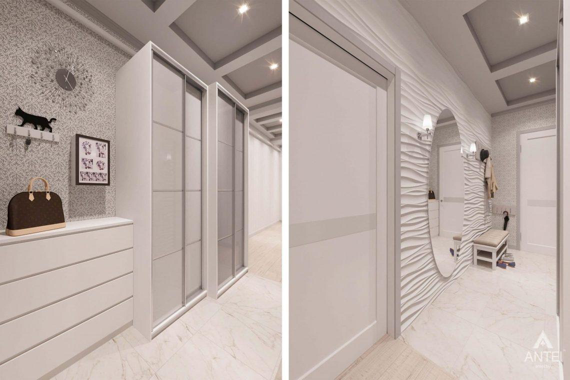 Дизайн интерьера квартиры в Минске, ул.Короля - прихожая фото №2