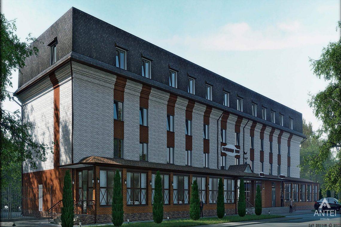 Дизайн интерьера гостиницы в г. Клинцы, Россия - фото №1