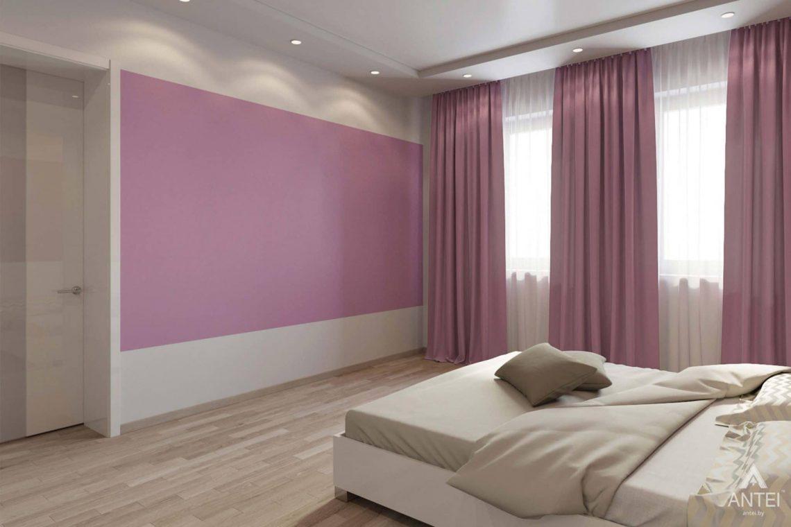 Дизайн интерьера загородного дома в п.Цегельня, Гомельский р-н - спальня фото №3