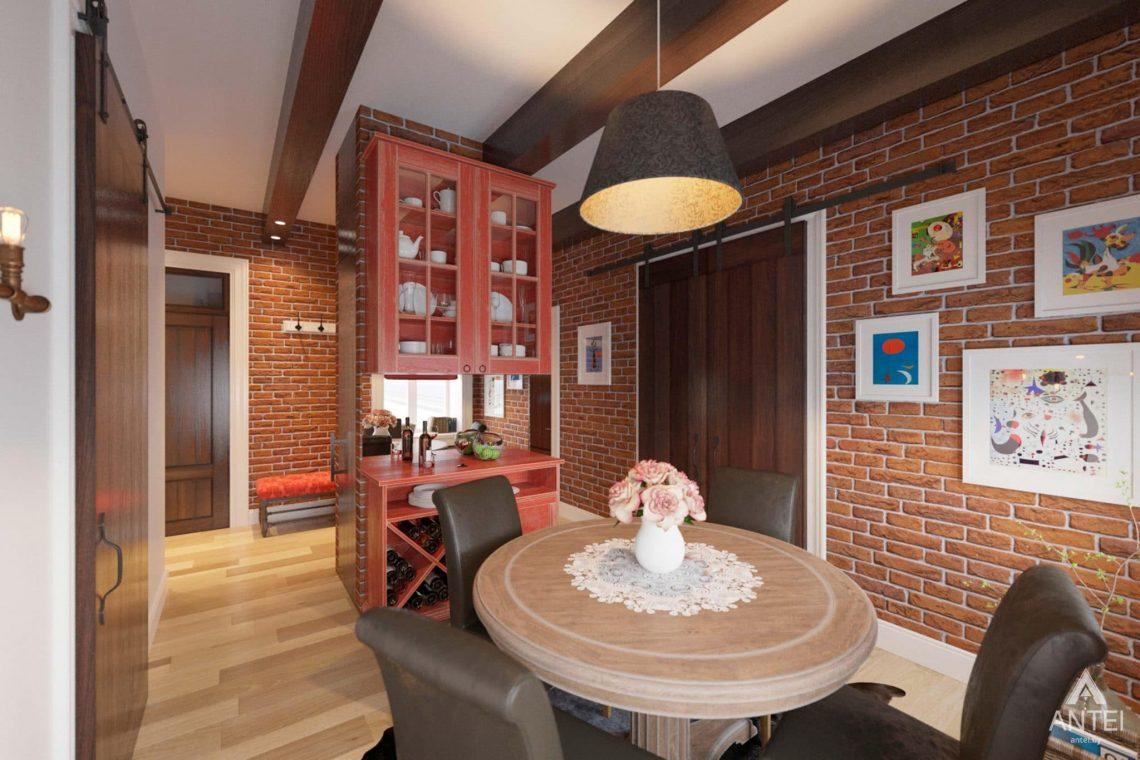 Дизайн интерьера квартиры в Гомеле, Проспект Ленина, 51 - гостиная фото №1