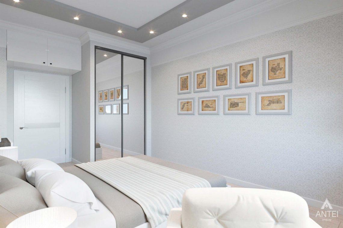 Дизайн интерьера квартиры в Минске, ул.Короля - спальня фото №3
