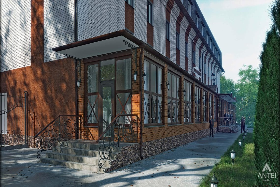 Дизайн интерьера гостиницы в г. Клинцы, Россия - фото №2
