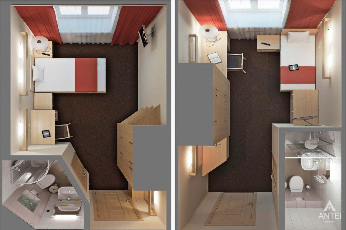 Дизайн интерьера гостиницы в г. Клинцы, Россия - фото №18