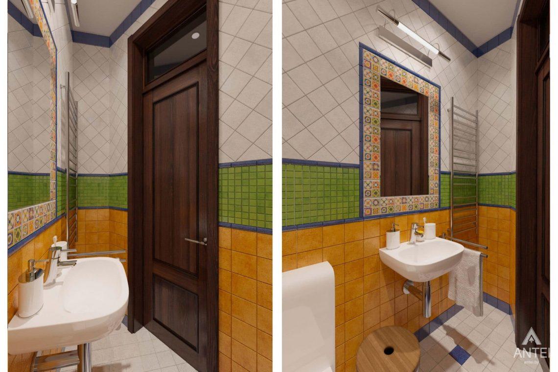Дизайн интерьера квартиры в Гомеле, Проспект Ленина, 51 - санузел фото №2