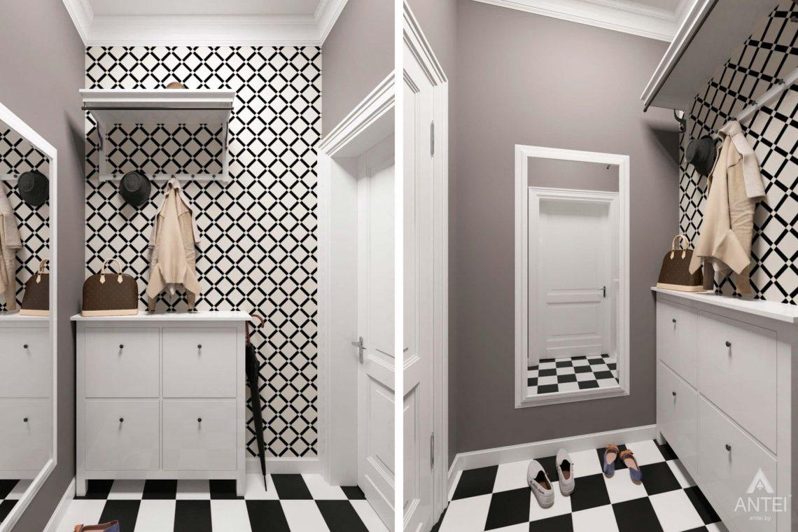 Дизайн интерьера трехкомнатной квартиры в Гомеле, ул.Тельмана - гардеробная