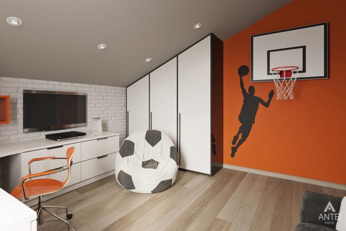 Дизайн интерьера загородного дома в г. Люберцы, Россия - детская комната для мальчика фото №3