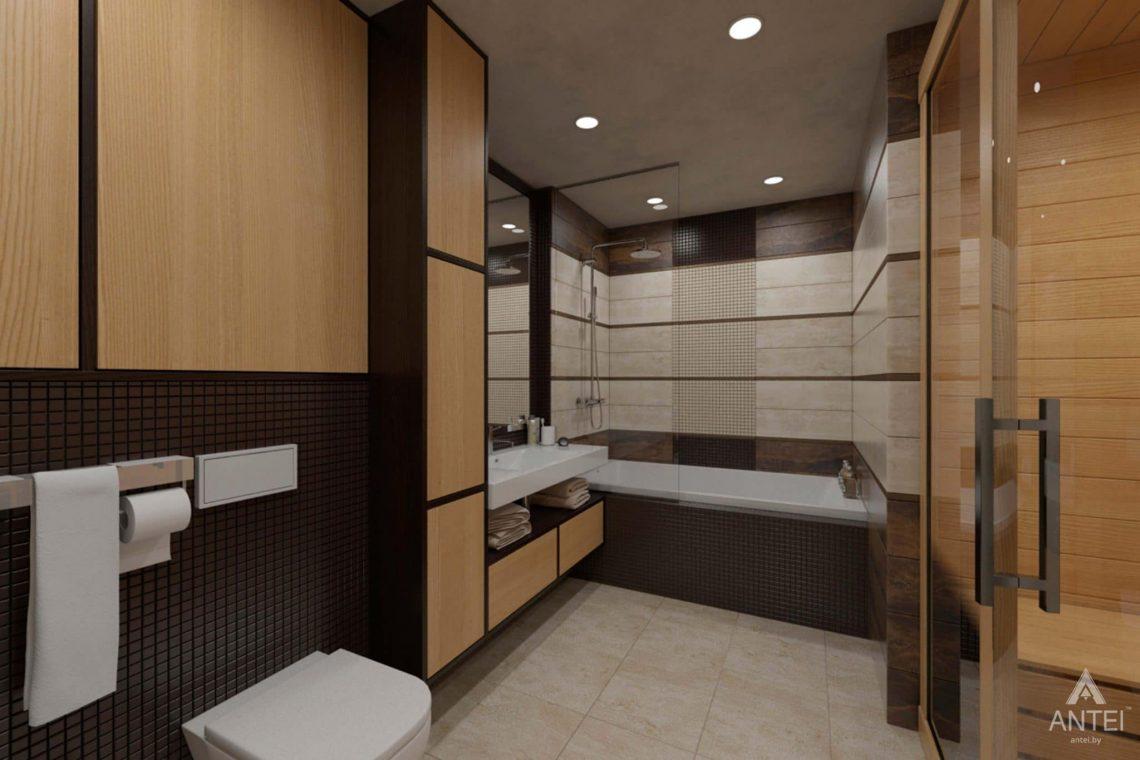 Дизайн интерьера квартиры в г. Гомеле, ул. Кожара, 55 - санузел фото №1