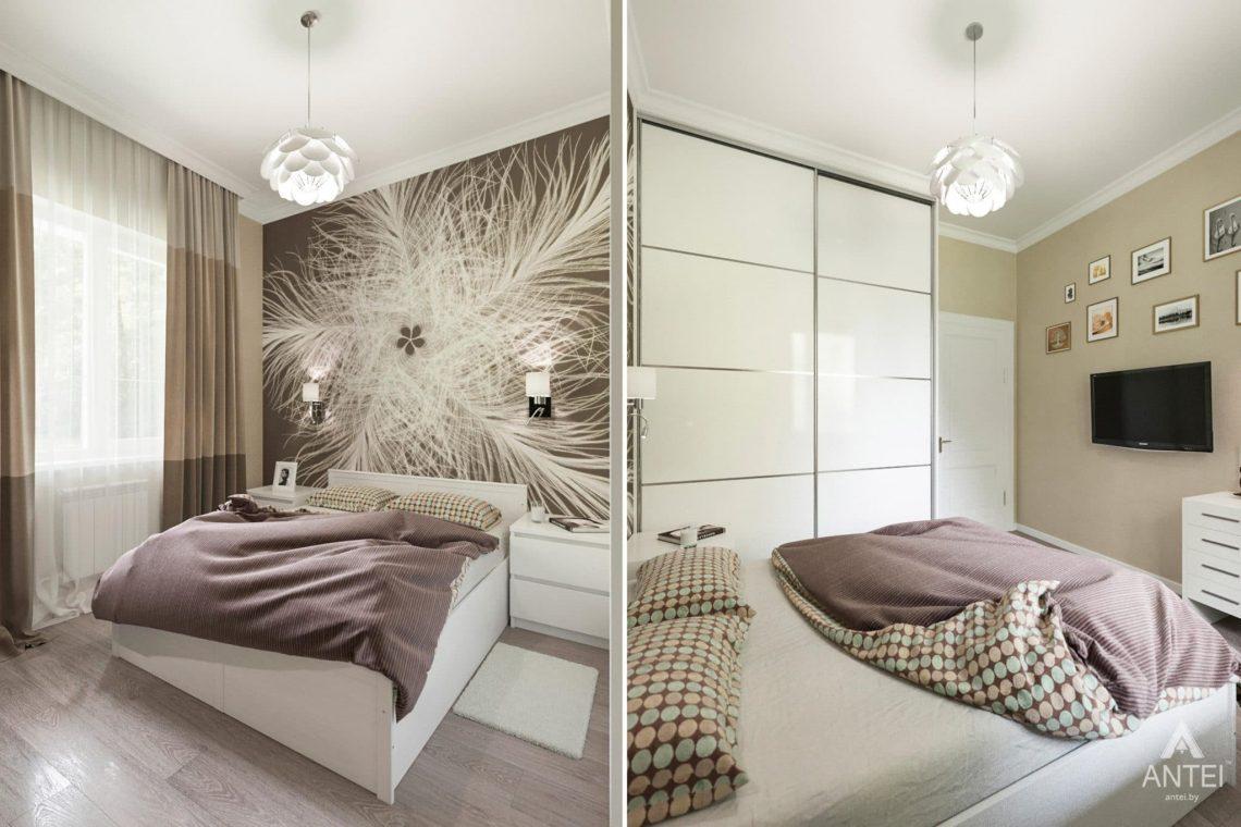 Дизайн интерьера загородного дома в Гомеле, п. Березки - спальня