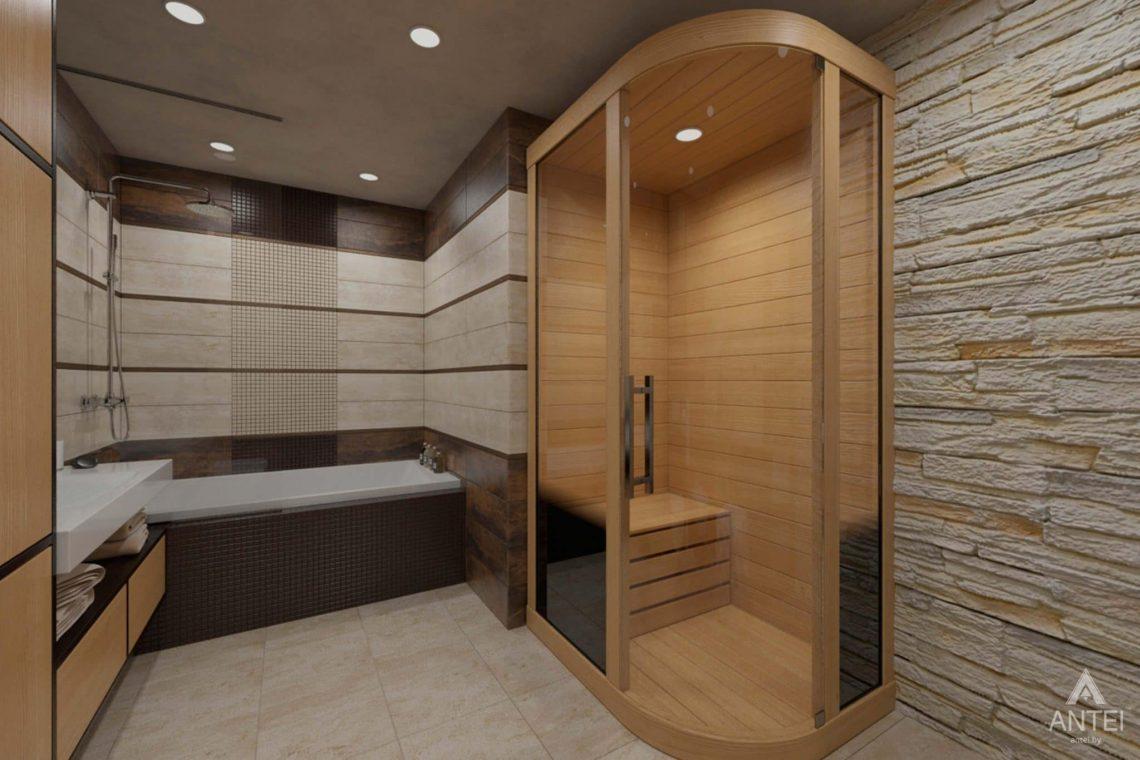 Дизайн интерьера квартиры в г. Гомеле, ул. Кожара, 55 - санузел фото №3