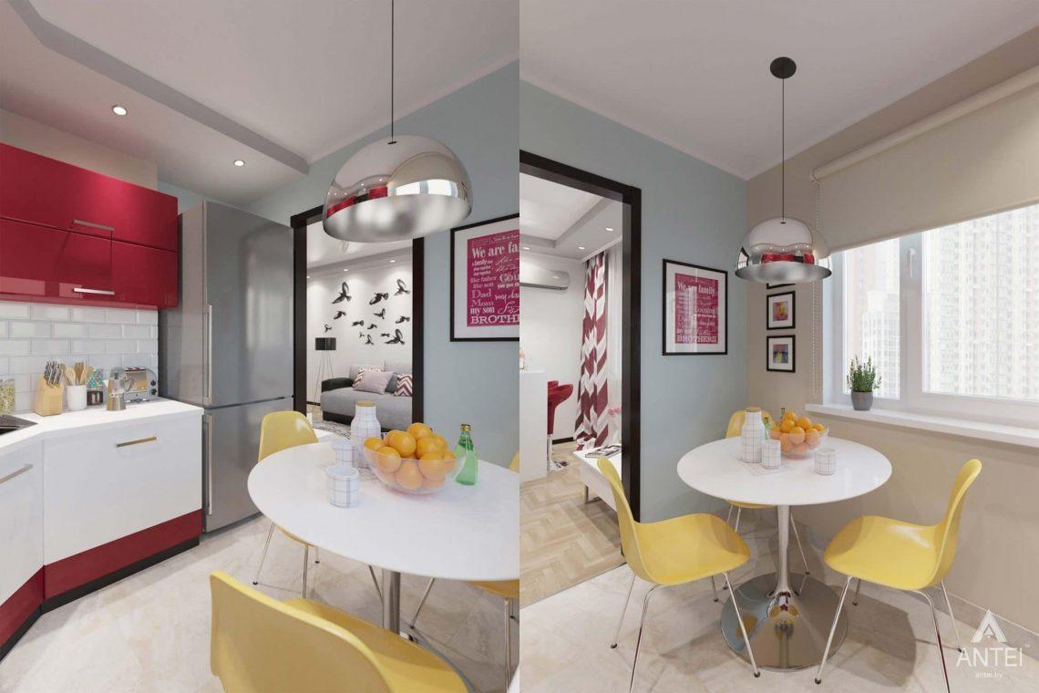 Дизайн интерьера квартиры в Гомеле, ул. Победы - кухня фото №1