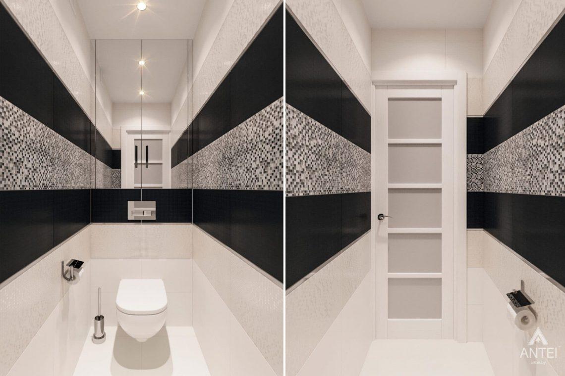 Дизайн интерьера квартиры в Гомеле, ул. Пенязькова, 37 - туалет фото №1