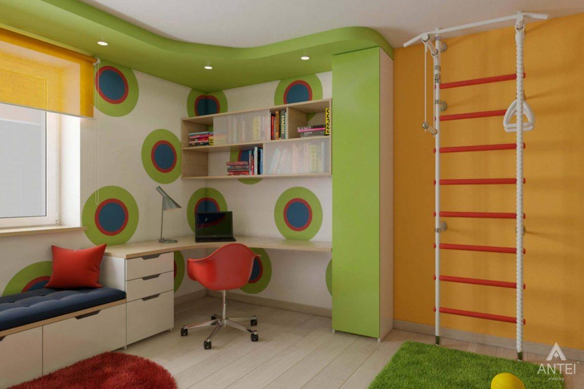 Дизайн интерьера квартиры в г. Гомеле, ул. Кожара, 55 - детская комната фото №3