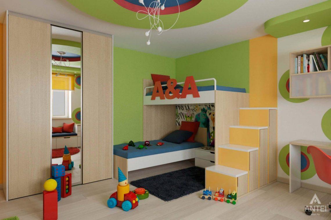 Дизайн интерьера квартиры в г. Гомеле, ул. Кожара, 55 - детская комната фото №1