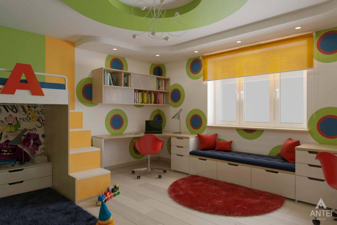 Дизайн интерьера квартиры в г. Гомеле, ул. Кожара, 55 - детская комната фото №2