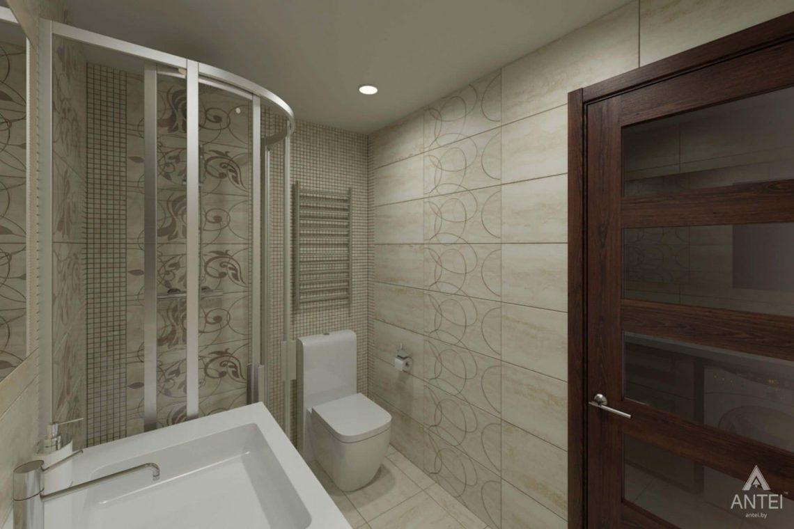 Дизайн интерьера квартиры в г. Гомеле, ул. Кожара, 55 - ванная фото №2