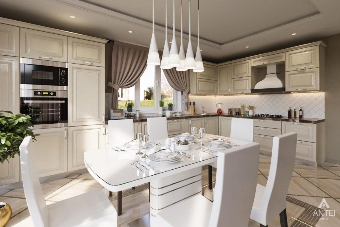 Дизайн интерьера загородного дома в г. Люберцы, Россия - кухня фото №2