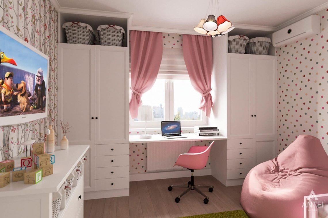 Дизайн интерьера квартиры в Гомеле, ул. Пенязькова, 37 - детская комната фото №1