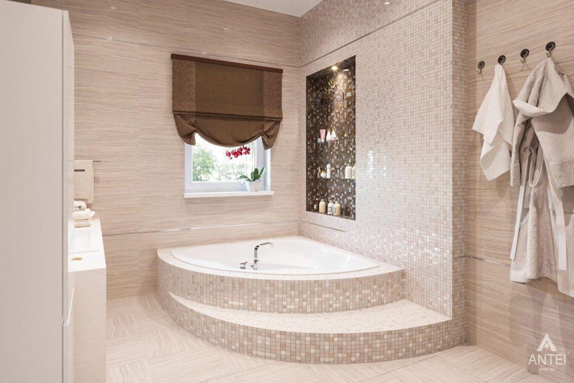 Дизайн интерьера загородного дома в г. Люберцы, Россия - ванная фото №1