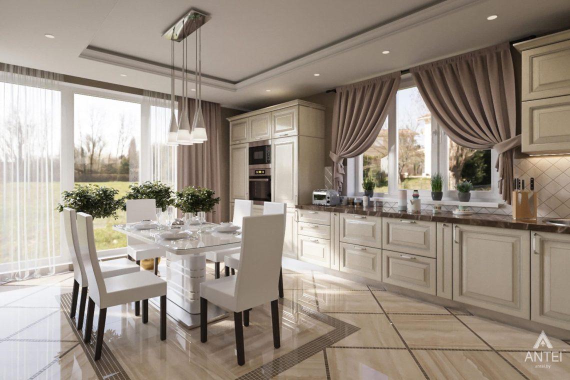 Дизайн интерьера загородного дома в г. Люберцы, Россия - кухня фото №1