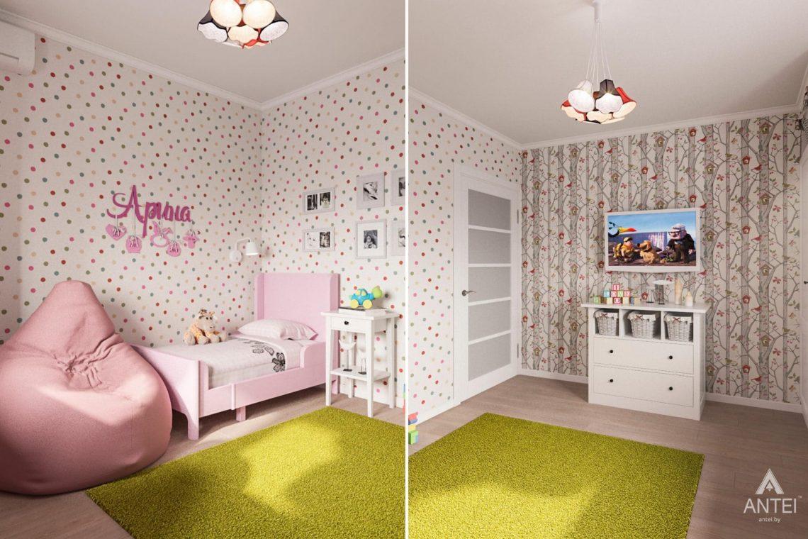 Дизайн интерьера квартиры в Гомеле, ул. Пенязькова, 37 - детская комната фото №2