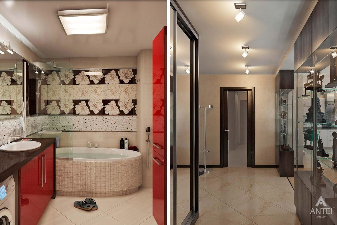 Дизайн интерьера квартиры в Гомеле - фото №1