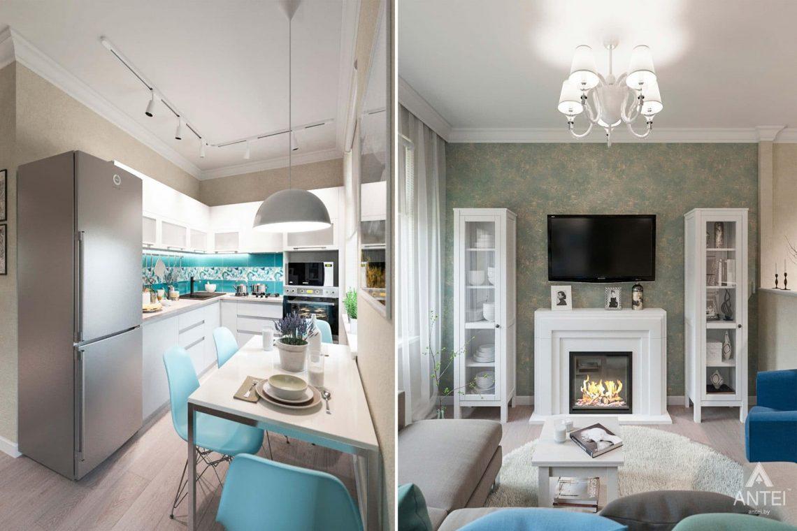 Дизайн интерьера квартиры в Светлогорске - кухня фото №3