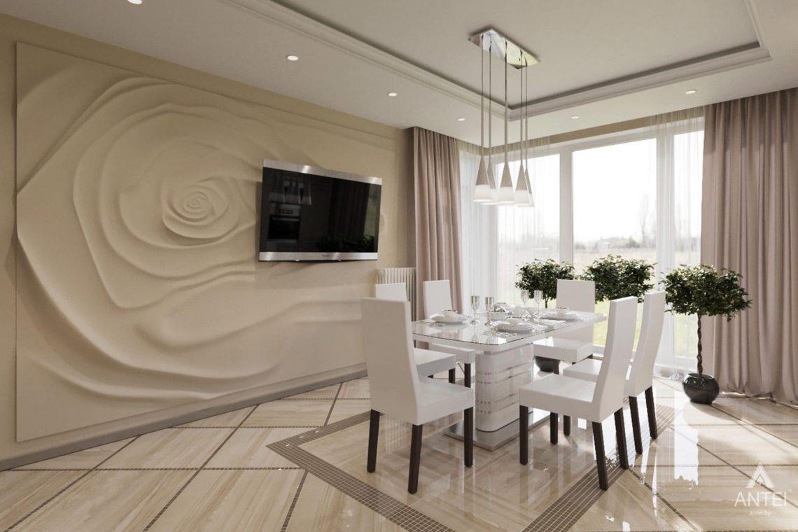 Дизайн интерьера загородного дома в г. Люберцы, Россия - кухня фото №3