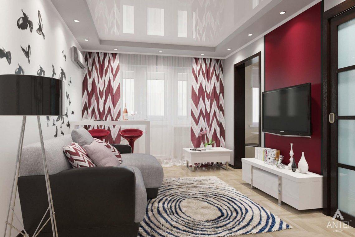 Дизайн интерьера квартиры в Гомеле, ул. Победы - прихожая фото №1