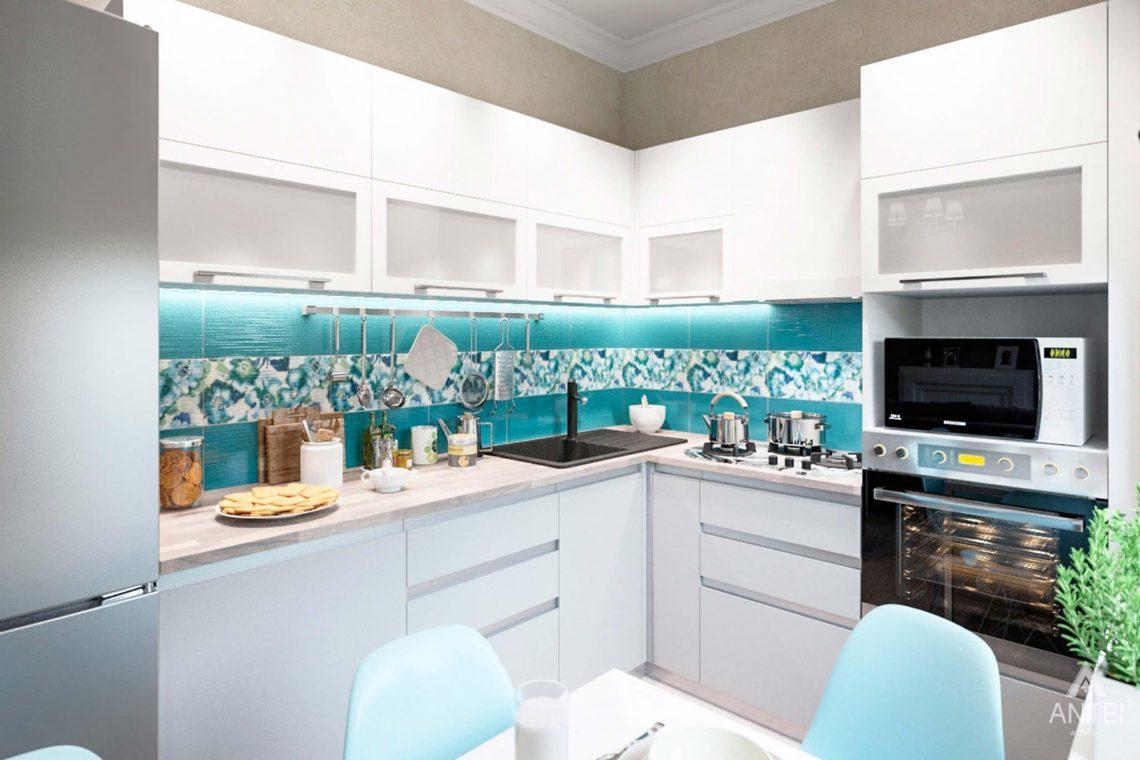 Дизайн интерьера квартиры в Светлогорске - кухня фото №2