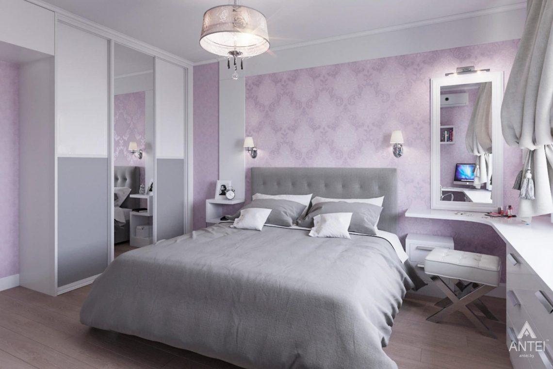 Дизайн интерьера квартиры в Гомеле, ул. Пенязькова, 37 - спальня фото №1