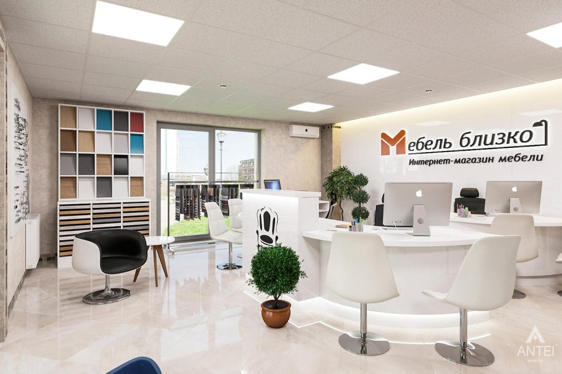 Дизайн интерьера магазина мебели в Гомеле, ул. Рогачевская - фото №3
