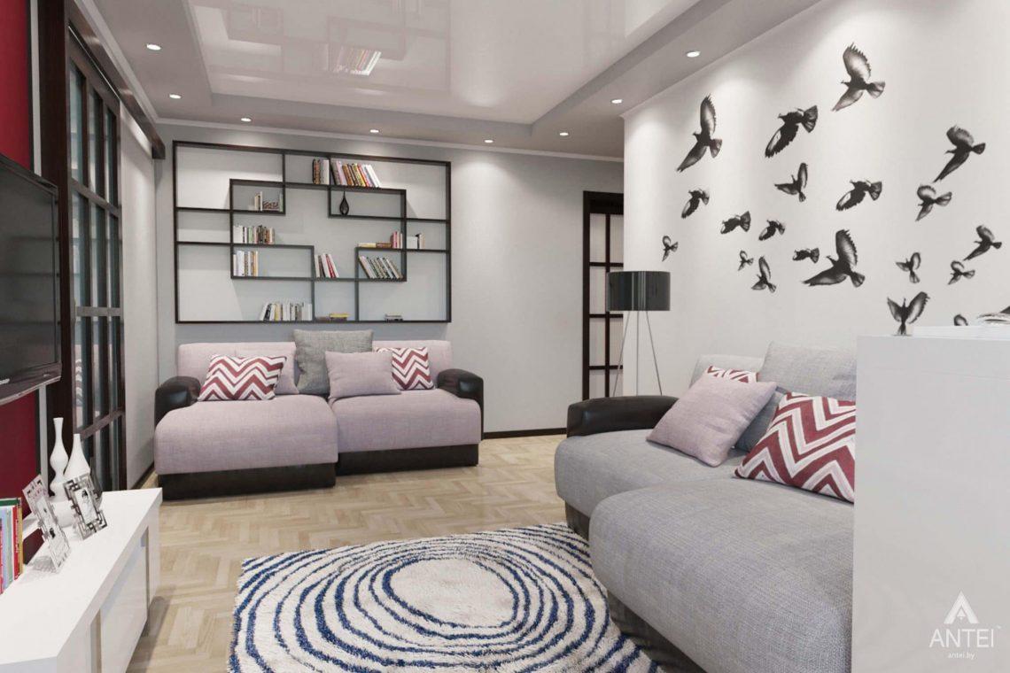 Дизайн интерьера квартиры в Гомеле, ул. Победы - прихожая фото №3