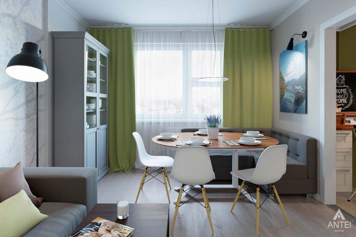 Дизайн интерьера квартиры в Гомеле, ул.Денисенко - кухня фото №1