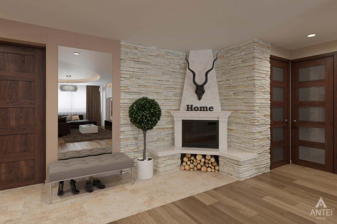 Дизайн интерьера квартиры в г. Гомеле, ул. Кожара, 55 - кухня-гостиная фото №5