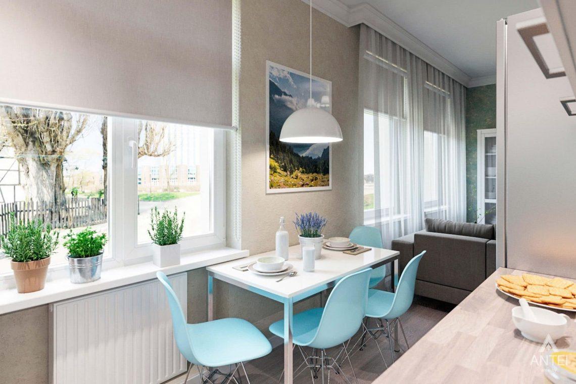 Дизайн интерьера квартиры в Светлогорске - кухня фото №1