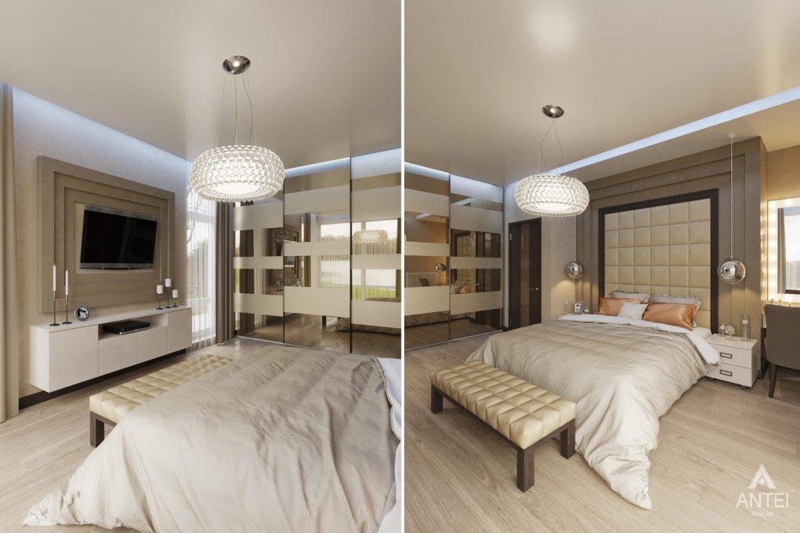 Дизайн интерьера загородного дома в г. Люберцы, Россия - спальня