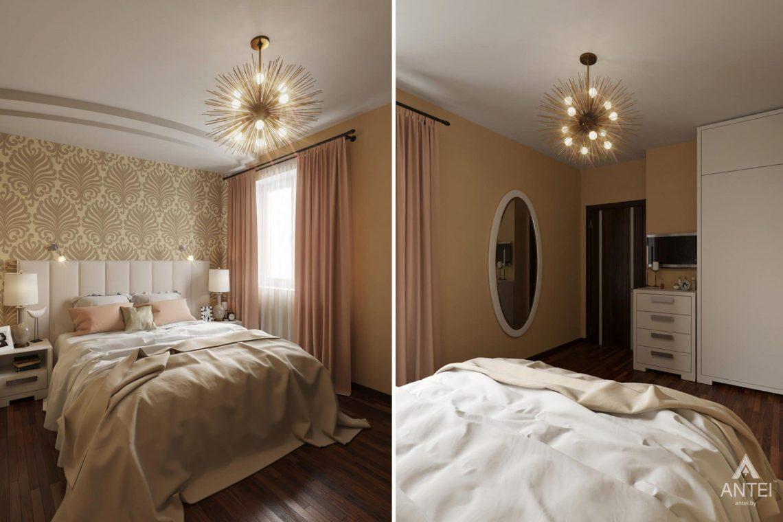 Дизайн интерьера квартиры в Гомеле, ул. Волотовская, 11 - спальня фото №1
