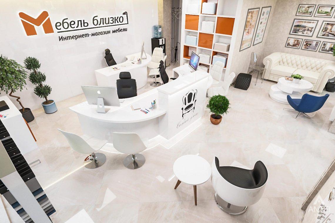 Дизайн интерьера магазина мебели в Гомеле, ул. Рогачевская - фото №2
