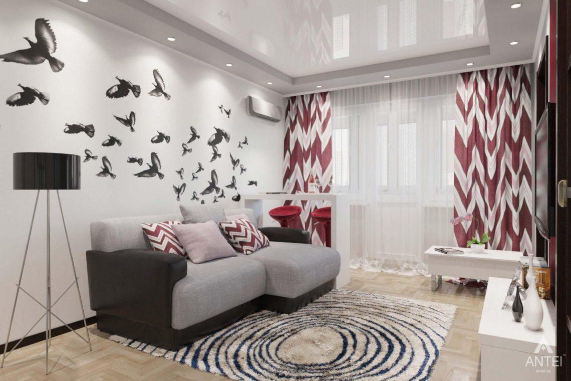 Дизайн интерьера квартиры в Гомеле, ул. Победы - прихожая фото №2