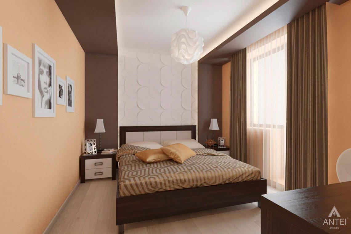 Дизайн интерьера квартиры в г. Гомеле, ул. Кожара, 55 - спальня фото №1