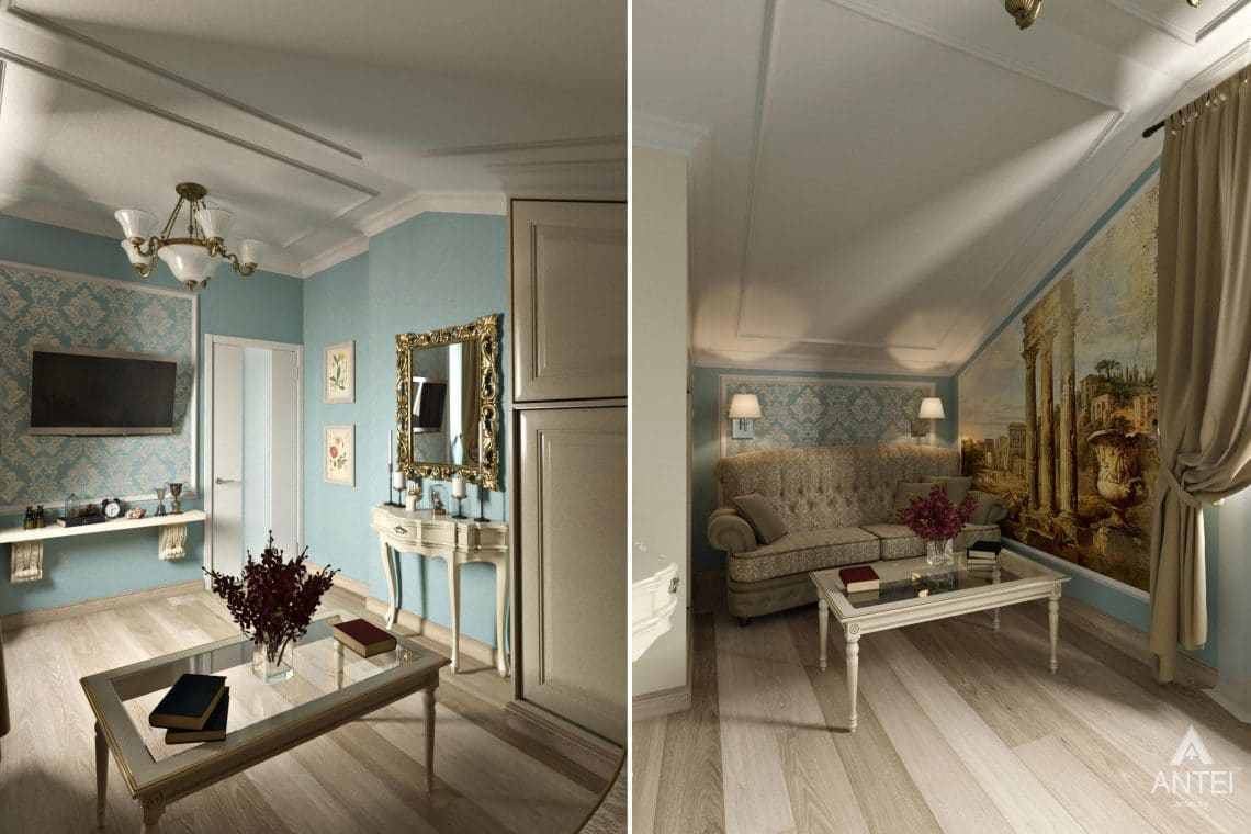 Дизайн интерьера загородного дома в г. Люберцы, Россия - комната