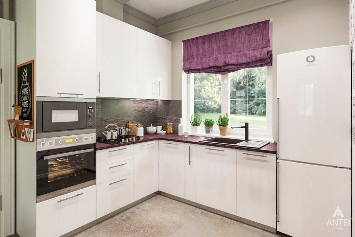 Дизайн интерьера загородного дома в Гомеле, п. Березки - кухня фото №2